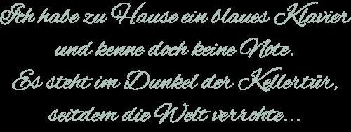 Else Lasker-Schüler - Gedicht