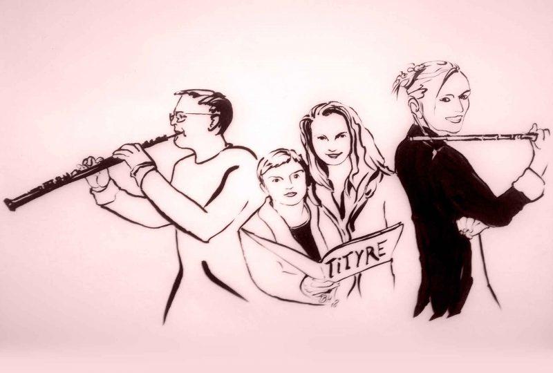 ensembleTITYRE, Zeichnung